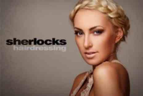 Sherlocks Hairdressing - Cut and Style With Conditioning Treatment - Save 58%