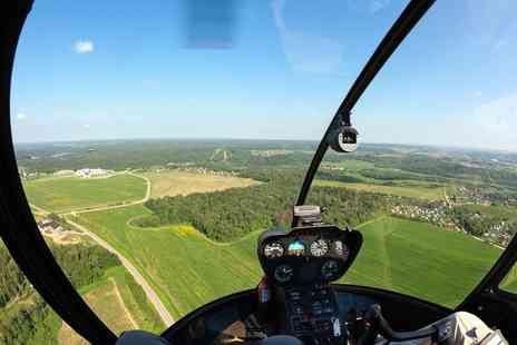 Challenger Helicopters - Helicopter Flight Simulator Experience for Up to Three - Save 80%