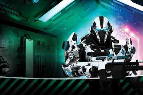 Quasar Sheffield - Two Games of Laser Quasar with Refreshments for Four - Save 50%