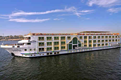 MS Royal Viking & Hilton Hurghada - Five Star Luxury Nile Cruise and All Inclusive Beach Break - Save 30%
