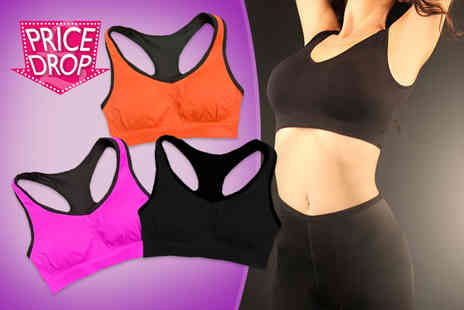 Who Runs the World - Shock absorbing sports bra - Save 60%