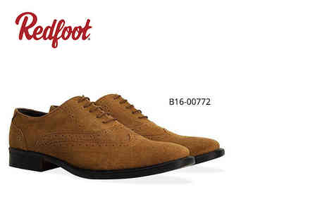 Shoeprimo - Mens suede brogues in navy or tan - Save 76%