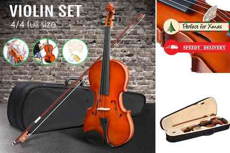 SHS Trading - Full size violin and carry case - Save 54%
