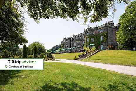 Nidd Hall Hotel - Afternoon tea for two - Save 32%