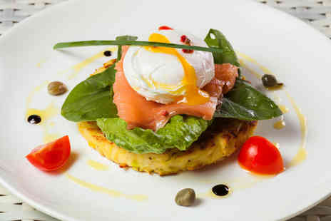 A Venue Bar - Brunch for two with tea or coffee or with prosecco - Save 47%