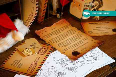 Freebze Media - Personalised Santa letter plus Delivery is Included - Save 50%