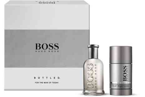 Groupon Goods Global GmbH - Hugo Boss Bottled Eau de Toilette 75ml Set - Save 33%