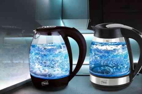 Groupon Goods Global GmbH - NEO Cordless Illuminated Glass 1.7L Kettles - Save 70%