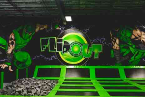 Flip Out Somerset - One or Two Hour Jump Experience for Up to Four - Save 35%