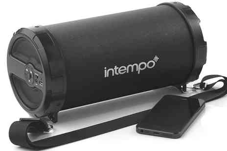 Groupon Goods Global GmbH - Intempo Rechargeable Large Tube Speaker - Save 13%