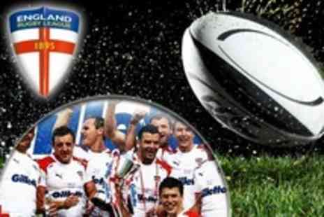 The Rugby Football League - Two Tickets to England v Exiles Rugby League Match - Save 60%