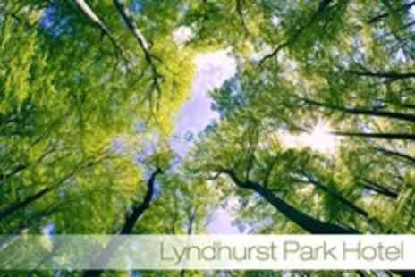 Lyndhurst Park Hotel - In New Forest One Night Stay For Two With Breakfast, Two Course Meal, and Wine - Save 38%