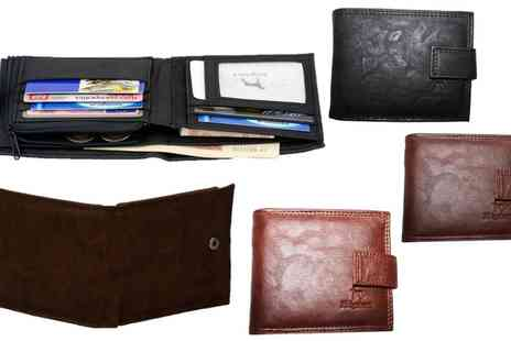 Groupon Goods Global GmbH - One or Two Mens Ridgeback Wallets - Save 85%