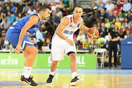GB Basketball - GB vs Estonia or Israel Basketball World Cup Qualifier Game, Adult, Child, or Family Ticket - Save 49%