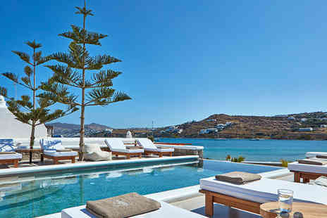 Mykonos Waves Beach House & Suites - Four Star Stunning Waterfront Property on Korfos Beach - Save 42%
