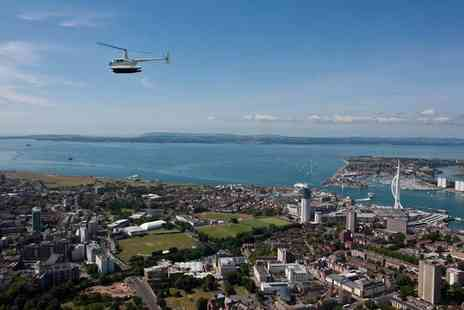 Phoenix Helicopter Academy - 10 minute coastal helicopter flight for two with a box of chocolates - Save 36%