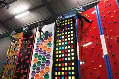 Clip n Climb - 55 minute climbing session for two - Save 52%