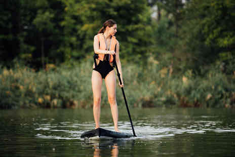Adventure Rutland - 90 minute stand up paddleboarding session for one or two - Save 60%