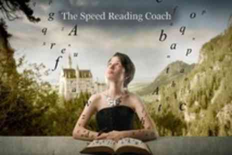 The Speed Reading Coach - Four Hour Class - Save 65%