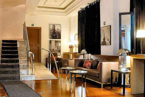 Hotel Quatro Puerta del Sol - Four Star Artistic Design Hotel Stay For Two in the City Centre - Save 49%