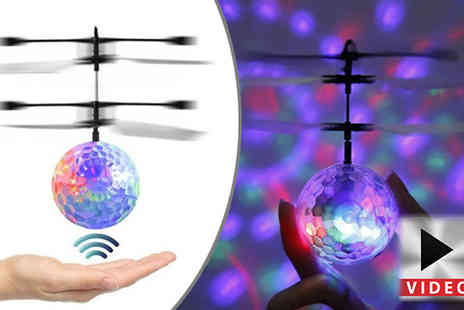 Toy Loco - Led Colour Changing Hover Ball - Save 70%
