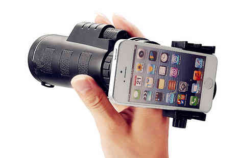 Goods Direct - Universal 10x Zoom Camera Lens for Smartphones - Save 67%