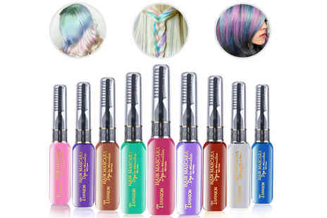 GetGorgeous - Comb in & wash out hair colour choose from nine colours - Save 63%