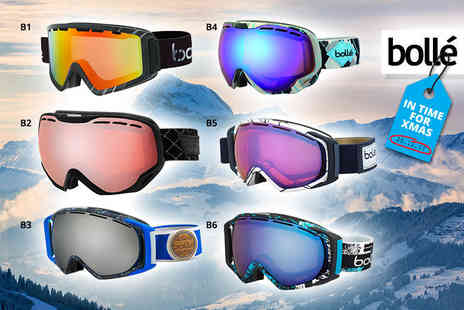 Brand Logic - Bolle ski goggles choose from 26 designs - Save 51%