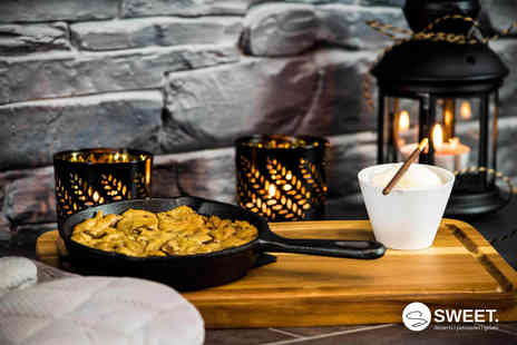 Sweet - Two cookie doughs and two hot drinks at Sweet choose from five locations - Save 48%