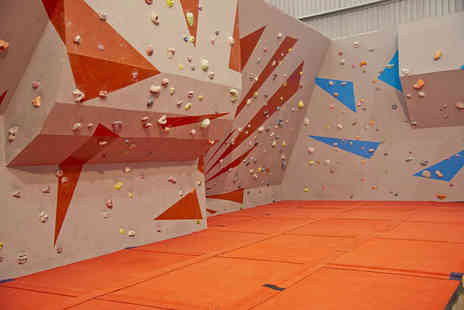 Sunderland Wall - One hour bouldering taster session with equipment hire and annual membership for one, two, four or six - Save 66%