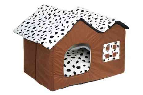 Groupon Goods Global GmbH - Luxury High End Double Pet House - Save 60%