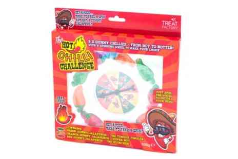 Groupon Goods Global GmbH - One, Two or Three Hot Chilli Challenge Jelly Candy Packs - Save 50%