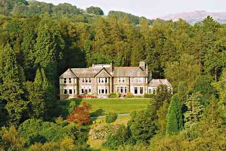 Merewood Country House Hotel - One or Two Nights Stay for Two with Breakfast and Cream Tea or Windermere Cruise - Save 44%