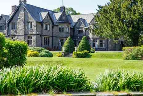 Maes Manor Country Hotel - Up to 3 Nights for 2 with Breakfast and Optional Dinner, Wine and Afternoon Tea - Save 0%