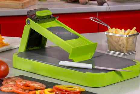Groupon Goods Global GmbH - Tower Six in One Mandoline and Cutting Board - Save 66%