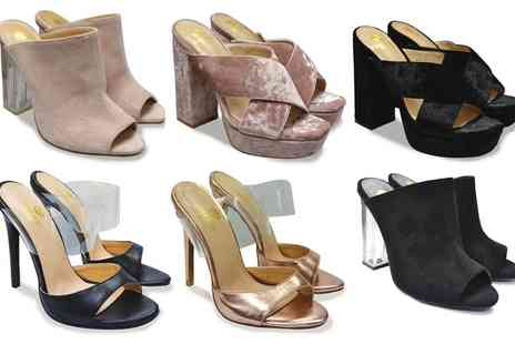 Groupon Goods Global GmbH - High Heeled Sandals in Choice of Design - Save 28%