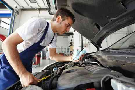 Mr Car Sales - Car Service with Oil and Filter Change Plus 55 Point Safety Check - Save 44%