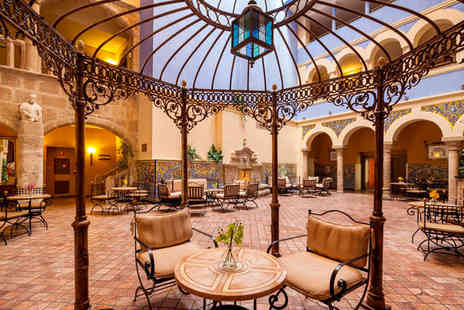 Hotel Ilunion Merida Palace - Five Star Restored 15th Century Palace For Two - Save 75%