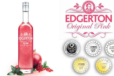 Key 2 Retail - Edgerton Pink or Blue Spice Gin 70cl Bottle - Save 44%