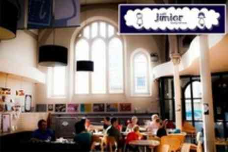Cafe Junior - Ten Entry Passes For One Adult and One Child - Save 73%