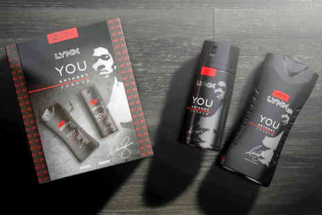 Advanced Retail Solutions - Lynx limited edition Anthony Joshua body spray and shower gel gift set - Save 0%
