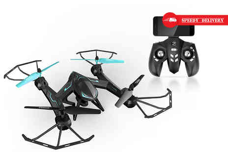 Globi Toys - Remote controlled camera stunt drone - Save 64%