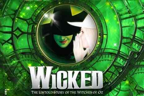 Margo Tickets - London overnight stay with a ticket to see Wicked - Save 41%