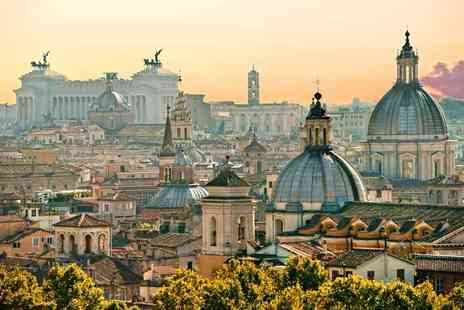 Crystal Travel - Two or three night Rome stay with flights and optional Vatican City tour - Save 48%
