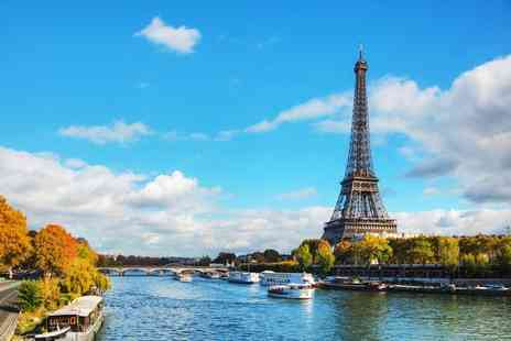 Short Break - Day trip to Paris with Eurostar transfers and River Seine cruise or stay one, two or three night - Save 43%