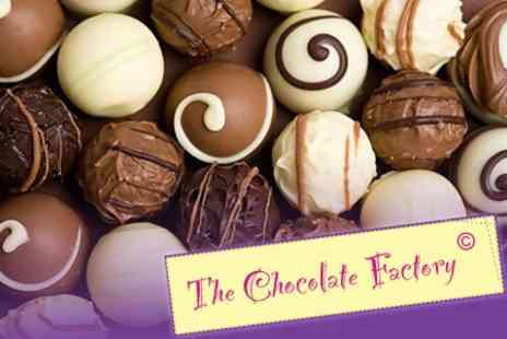 The Chocolate Factory - Chocolate Factory Guided Tour For Family of Five - Save 76%