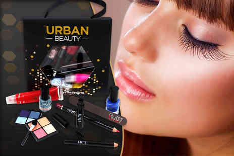 Forever Cosmetics - Ten piece urban beauty lucky dip gift bag - Save 83%