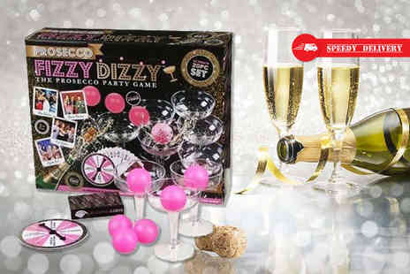 Direct 2 Public - Prosecco Fizzy Dizzy party game - Save 67%