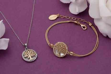 Neverland Sales - Mestige Maple Tree of Life Jewellery with Crystals from Swarovski With Free Delivery - Save 74%