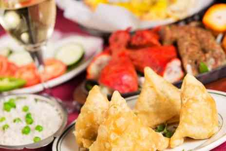 The New Talbot - Two Course Indian Tapas Meal Sides for Two, Four or Six - Save 53%